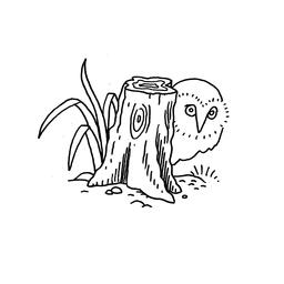 Dessin de hibou. Source : http://data.abuledu.org/URI/566b1912-dessin-de-hibou