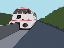 Dessin de l'aérotrain. Source : http://data.abuledu.org/URI/53a2a75f-dessin-de-l-aerotrain