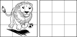 Dessin de lion. Source : http://data.abuledu.org/URI/583ccc59-dessin-de-lion