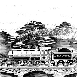 Dessin de locomotive à vapeur. Source : http://data.abuledu.org/URI/55014374-dessin-de-locomotive-a-vapeur