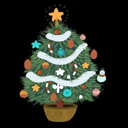 Dessin de sapin de Noël. Source : http://data.abuledu.org/URI/566b2065-dessin-de-sapin-de-noel