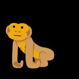 Dessin de singe. Source : http://data.abuledu.org/URI/54f78b9f-dessin-de-singe