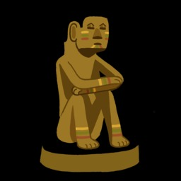 Dessin de statuette africaine. Source : http://data.abuledu.org/URI/54f77ee9-dessin-de-statuette-africaine