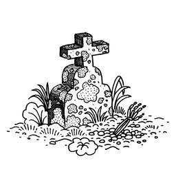 Dessin de tombe. Source : http://data.abuledu.org/URI/566b18b0-dessin-de-tombe