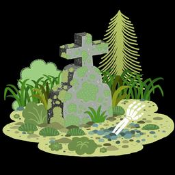 Dessin de tombe de nuit en couleurs. Source : http://data.abuledu.org/URI/566b187d-dessin-de-tombe-de-nuit-en-couleurs