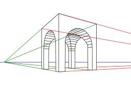 Dessin en perspective. Source : http://data.abuledu.org/URI/51fa575e-dessin-en-perspective