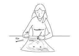 Dessiner. Source : http://data.abuledu.org/URI/50254137-dessiner
