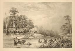 Détroit de Magellan en 1837. Source : http://data.abuledu.org/URI/59803e85-detroit-de-magellan-en-1837