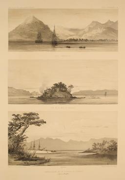 Détroit de Magellan en 1837. Source : http://data.abuledu.org/URI/59803f76-detroit-de-magellan-en-1837