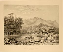 Détroit de Magellan en 1837. Source : http://data.abuledu.org/URI/59803fd9-detroit-de-magellan-en-1837