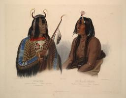Deux amérindiens. Source : http://data.abuledu.org/URI/53b91b38-deux-amerindiens
