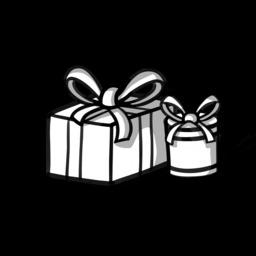Deux cadeaux avec rubans. Source : http://data.abuledu.org/URI/5417243e-deux-cadeaux-avec-rubans