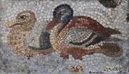 Deux canards en mosaïque. Source : http://data.abuledu.org/URI/53296fb1-deux-canards-en-mosaique