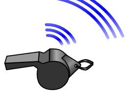 Deux coups de sifflet successifs. Source : http://data.abuledu.org/URI/52d85398-deux-coups-de-sifflet-successifs