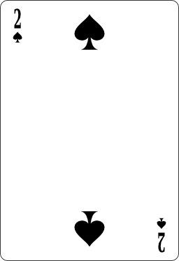 Deux de pique. Source : http://data.abuledu.org/URI/53b67911-deux-de-pique