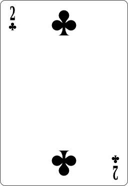 Deux de trèfle. Source : http://data.abuledu.org/URI/53b67828-deux-de-trefle