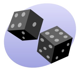 Deux dés. Source : http://data.abuledu.org/URI/5049fa0d-deux-des