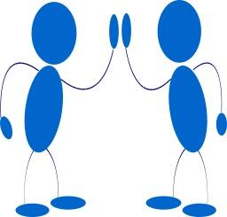Deux hommes bleus. Source : http://data.abuledu.org/URI/504a3d99-deux-hommes-bleus