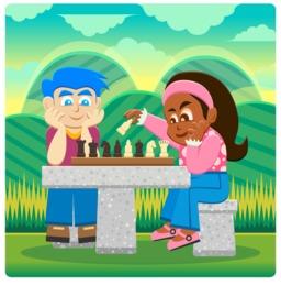 Deux joueurs d'échecs en plein air. Source : http://data.abuledu.org/URI/58333fe6-deux-joueurs-d-echecs-en-plein-air