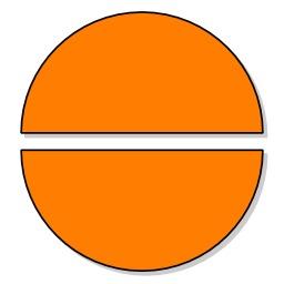 Deux moitiés. Source : http://data.abuledu.org/URI/570648ef-deux-moities