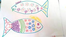 Deux poissons d'avril. Source : http://data.abuledu.org/URI/5701215b-deux-poissons-d-avril