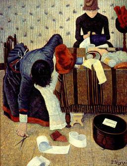 Deux stylistes Rue du Caire à Paris. Source : http://data.abuledu.org/URI/51b8abff-deux-stylistes-rue-du-caire-a-paris