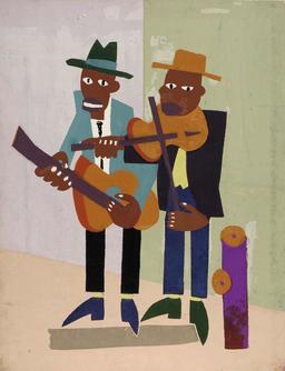 Deux violonistes de rue. Source : http://data.abuledu.org/URI/59516459-deux-violonistes-de-rue