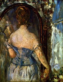 Devant le miroir de Manet. Source : http://data.abuledu.org/URI/585980b1-devant-le-miroir-de-manet