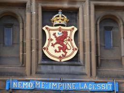 Devise de l'Écosse en latin. Source : http://data.abuledu.org/URI/55df8b9d-devise-de-l-ecosse-en-latin