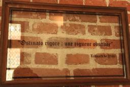 Devise de Léonard de Vinci. Source : http://data.abuledu.org/URI/55ccca65-devise-de-leonard-de-vinci