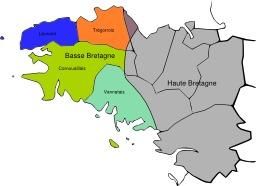 Dialectes bretons. Source : http://data.abuledu.org/URI/51cc9bb5-dialectes-bretons