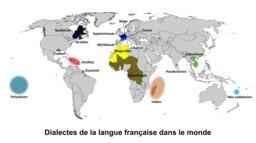 Dialectes de la langue française. Source : http://data.abuledu.org/URI/518aa148-dialectes-de-la-langue-francaise