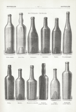 Différentes formes de bouteilles en verre. Source : http://data.abuledu.org/URI/501bb871-differentes-formes-de-bouteilles-en-verre