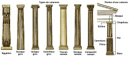 Différents types de colonnes. Source : http://data.abuledu.org/URI/541d9edb-differents-types-de-colonnes