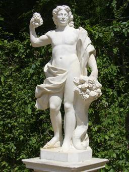 Dionysos et sa corne d'abondance. Source : http://data.abuledu.org/URI/573d2924-dionysos-et-sa-corne-d-abondance