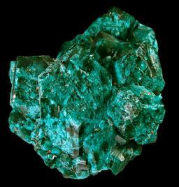 Dioptase de Renéville. Source : http://data.abuledu.org/URI/548601db-dioptase-de-reneville