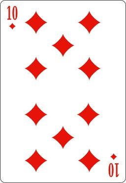 Dix de carreau. Source : http://data.abuledu.org/URI/53bcf3c1-dix-de-carreau