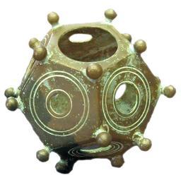Dodécaèdre romain. Source : http://data.abuledu.org/URI/55181700-dodecaedre-romain