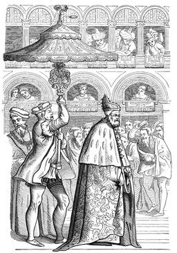 Doge de Venise au Seizième siècle. Source : http://data.abuledu.org/URI/539a1b74-doge-de-venise-au-seizieme-siecle