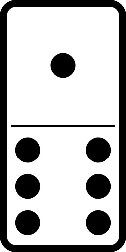 Domino 1-6. Source : http://data.abuledu.org/URI/50f319b0-domino-1-6
