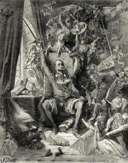 Don Quichotte - 01. Source : http://data.abuledu.org/URI/555864e5-don-quichotte-01