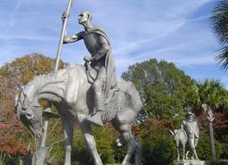 Don Quichotte et Sancho Panza. Source : http://data.abuledu.org/URI/52bf3e2b-don-quichotte-et-sancho-panza