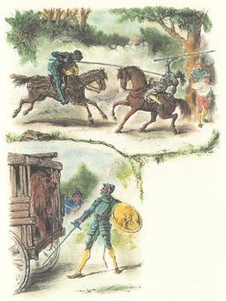 Don Quichotte pour enfants - 09. Source : http://data.abuledu.org/URI/555ce0ad-don-quichotte-pour-enfants-09