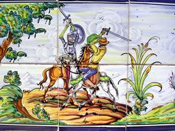 Don Quijote à Puerto Lapice - 4. Source : http://data.abuledu.org/URI/556a0564-don-quijote-a-puerto-lapice-4