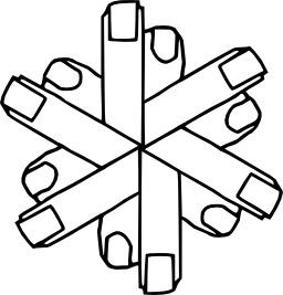 Douze doigts à colorier. Source : http://data.abuledu.org/URI/533134f0-douze-doigts-a-colorier