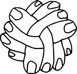 Douze doigts croisés. Source : http://data.abuledu.org/URI/50478eaf-douze-doigts-croises