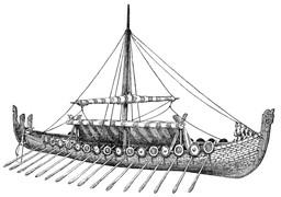 Drakkar. Source : http://data.abuledu.org/URI/47f3869f-drakkar