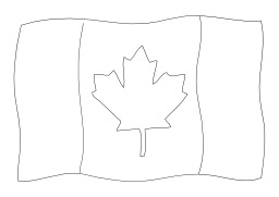 Drapeau canadien. Source : http://data.abuledu.org/URI/502565d1-drapeau-canadien
