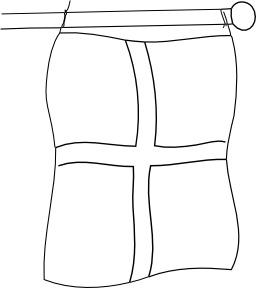 Drapeau de l'Angleterre. Source : http://data.abuledu.org/URI/50256596-drapeau-de-l-angleterre