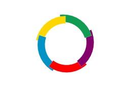 Drapeau de la francophonie. Source : http://data.abuledu.org/URI/518a9ece-drapeau-de-la-francophonie